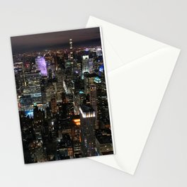 Midtown at Midnight Stationery Cards