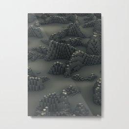 Dusty Pillars Metal Print