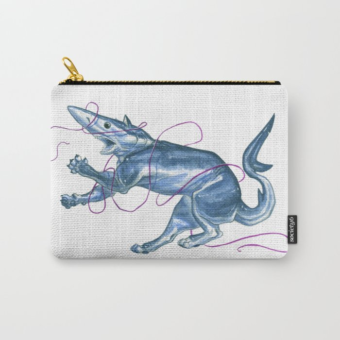 Blue Shark Cat :: Series 1 Carry-All Pouch
