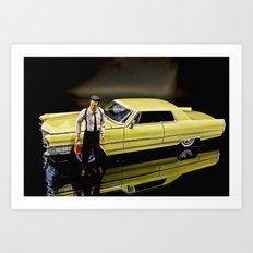 Reservoir Dogs 1965 Cadillac Coupe De Ville Art Print