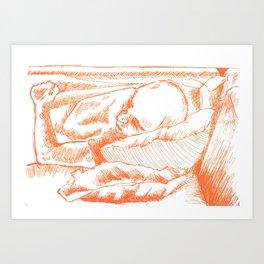 cameron Art Print