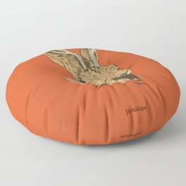 The Jackalope Floor Pillow