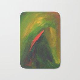 Abstract acrylic painting Bath Mat