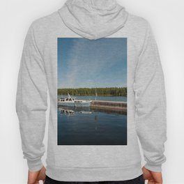 Boats at the Dock Hoody