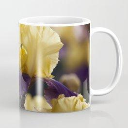 Purple and Yellow Springtime Iris Coffee Mug