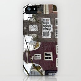 Amsterdam houses iPhone Case