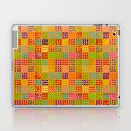 Aztec Wannabe (Orange) Laptop & iPad Skin