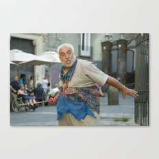 Neapolitan shakespeare Canvas Print