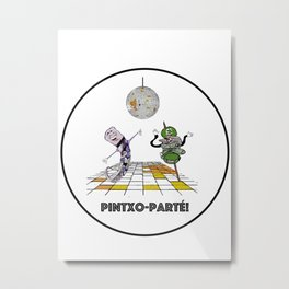 Pintxo-Parte Metal Print