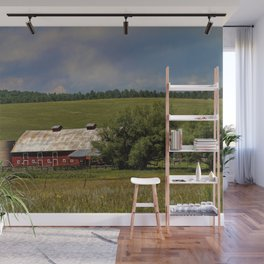 Summer Days Wall Mural