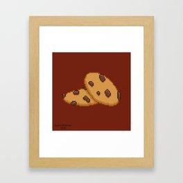 Chocolate Chip Framed Art Print
