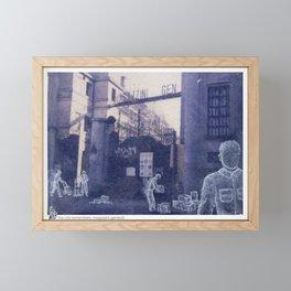 The city remembers; magazzini generali Framed Mini Art Print