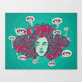 Come around again Canvas Print