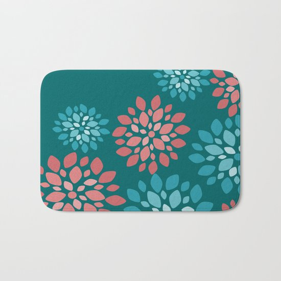 Flower Flurries Bath Mat
