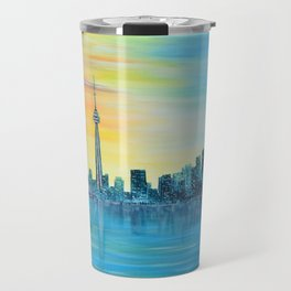 Toronto Sunset Travel Mug
