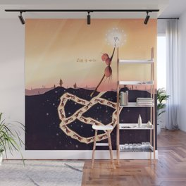 Less is More Wall Mural