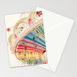 Flying Carousel 1 - Six Flags America Stationery Cards
