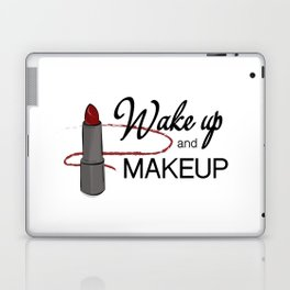 wake up  & makeup Laptop & iPad Skin