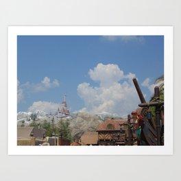 Fantasyland at Disney's Magic Kingdom Art Print