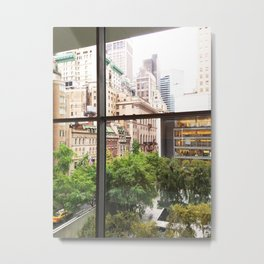 143. Room with view, New York Metal Print