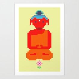 Calm Amitabha Art Print