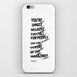 Single iPhone Skin