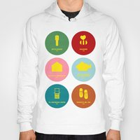 wes anderson Hoodies featuring Wes Anderson by Chay Lazaro