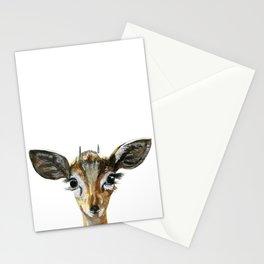 Deer Woodland Animal Baby Stationery Cards