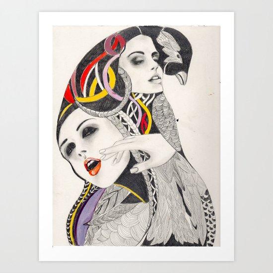 I Believe in beauty 4 Art Print