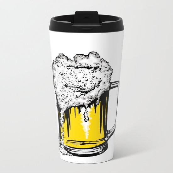 Beer Metal Travel Mug