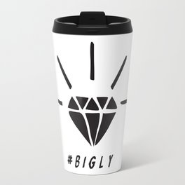 Trump Diamond #BIGLY by BenCapozzi Travel Mug