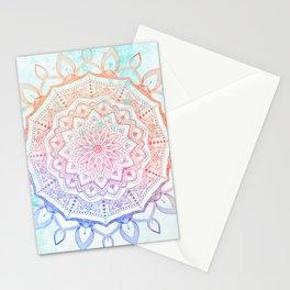 Floral Mandala Stationery Cards