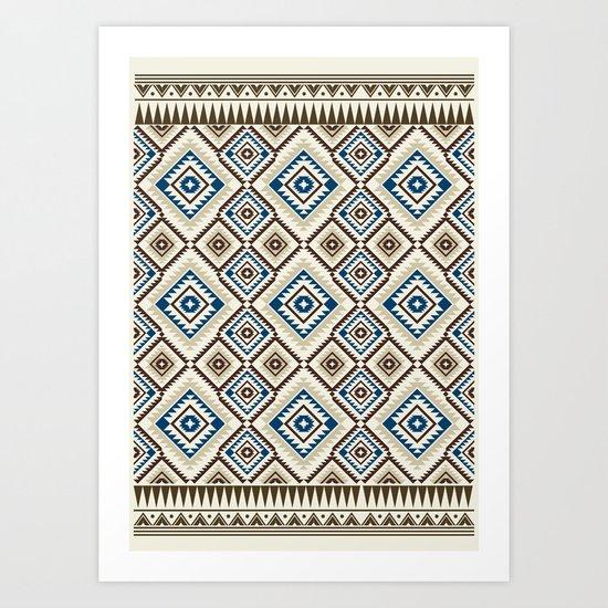 Navajo Seven Art Print