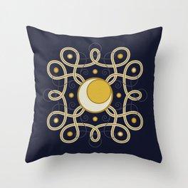 Celestial Convergence Throw Pillow