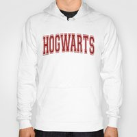 hogwarts Hoodies featuring Hogwarts  by DTbase+