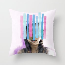 Trapped In My Thoughts Throw Pillow