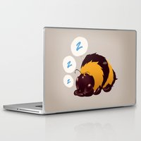 dragonball z Laptop & iPad Skins featuring B z z z by Anadapta