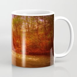 on the river Coffee Mug