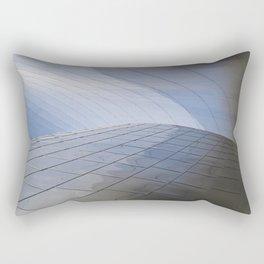 METALLIC WAVES Rectangular Pillow
