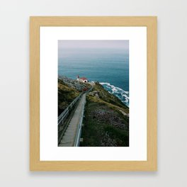 Stairs to Beauty Framed Art Print