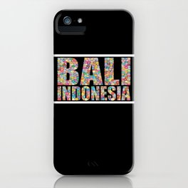 Bali Indonesia iPhone Case