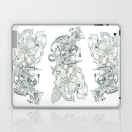 Tigerfish (Wonderful Mess Series) Laptop & iPad Skin