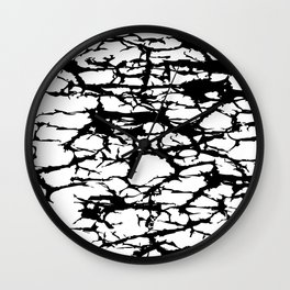Interlace Wall Clock