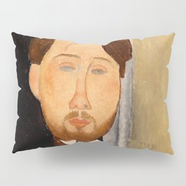 """Amedeo Modigliani """"Portrait of Léopold Zborowski"""" Pillow Sham"""