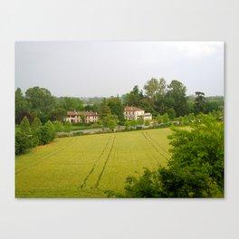 Villa View Canvas Print