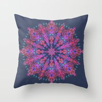 bohemian Throw Pillows featuring Bohemian by micklyn