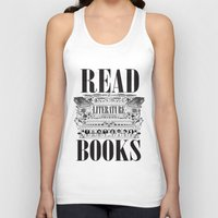 literature Tank Tops featuring Literature Poster by Ryan Huddle House of H