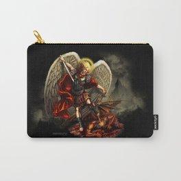 Saint Michael Archangel against the Devil Carry-All Pouch