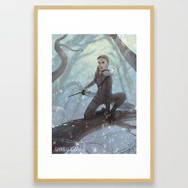 Feyre Framed Art Print