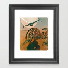 EXPEDITION Framed Art Print